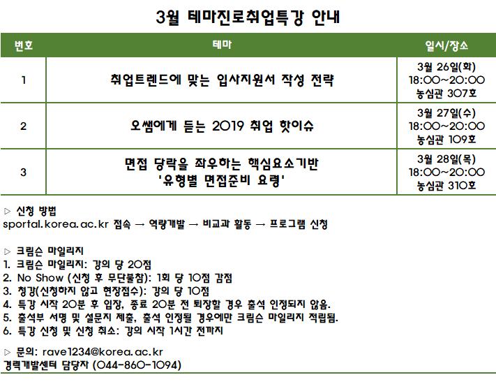 2019-1학기 테마진로취업특강-3월 일정.png