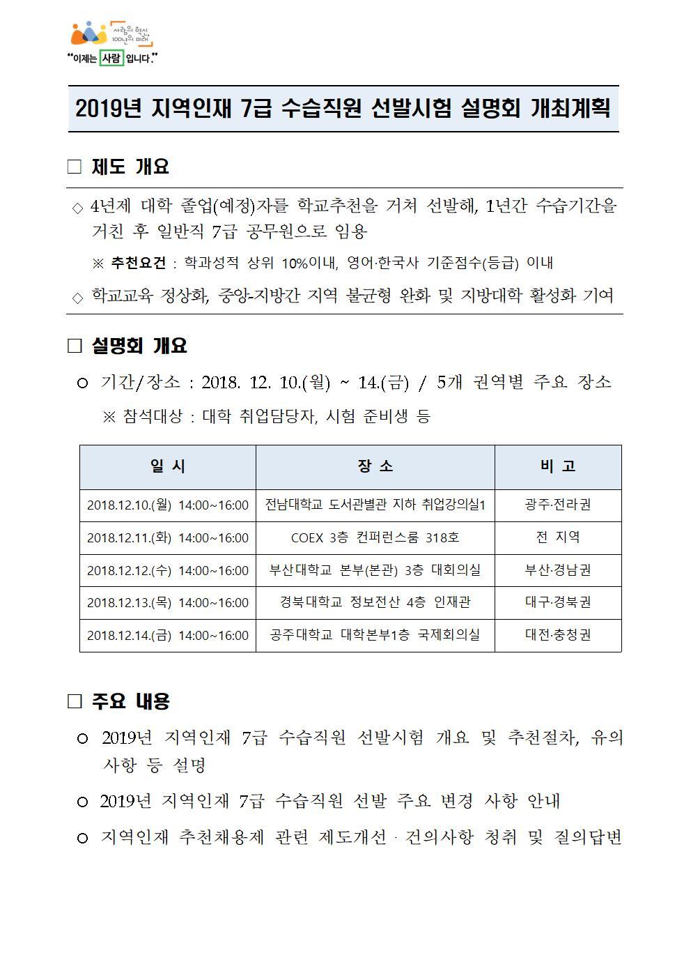 2019년 지역인재 7급 수습직원 선발 설명회 계획(교육부).jpg